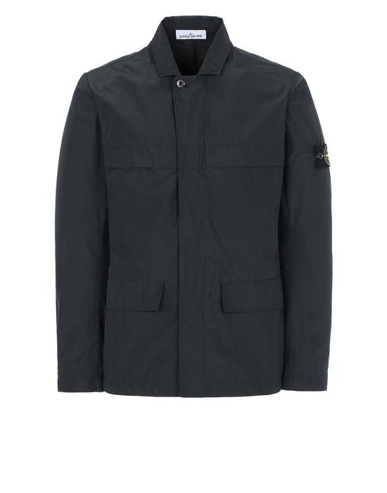 STONE ISLAND A0122 MICRO REPS Blazer Man Black