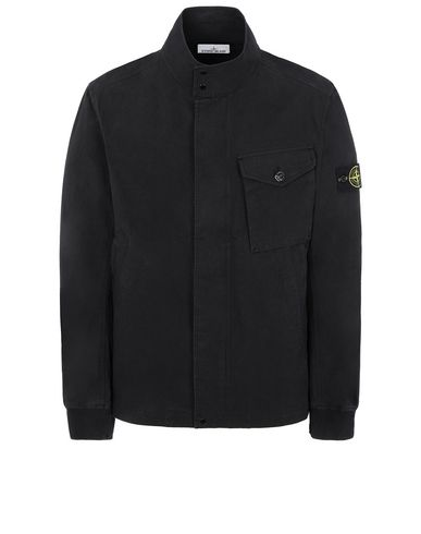 STONE ISLAND 44321 COTTON / CORDURA® Jacket Man Black EUR 368