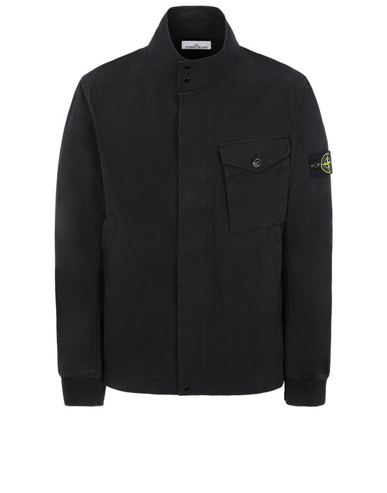 STONE ISLAND 44321 COTTON / CORDURA® Jacket Man Black