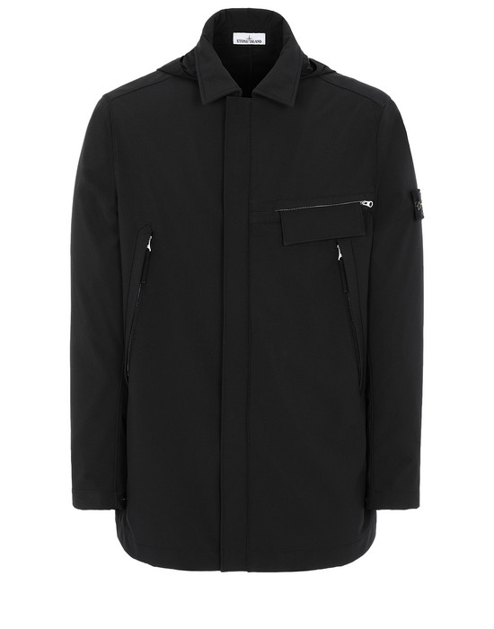 STONE ISLAND 40727 LIGHT SOFT SHELL-R Mid-length jacket Man
