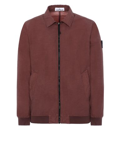 STONE ISLAND 41832 NASLAN LIGHT WATRO Jacket Man MAHOGANY BROWN EUR 501