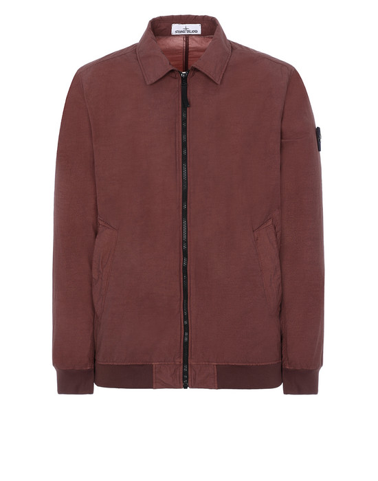STONE ISLAND 41832 NASLAN LIGHT WATRO Jacket Man MAHOGANY BROWN
