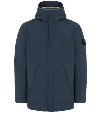 STONE ISLAND 43020 GORE-TEX WITH PACKLIGHT PRODUCT TECHNOLOGY Куртка Для Мужчин Морской синий RUB 49483