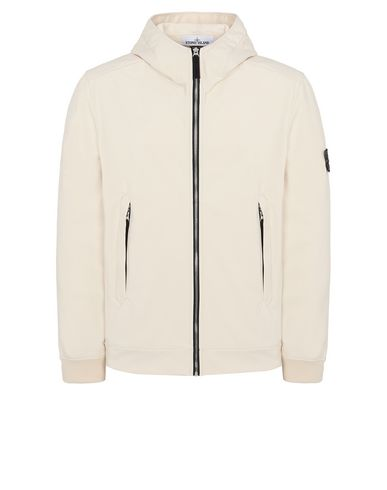 STONE ISLAND 40927 LIGHT SOFT SHELL-R Jacket Man Beige EUR 449