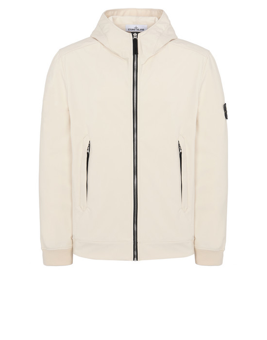 Jacket Man 40927 LIGHT SOFT SHELL-R Front STONE ISLAND