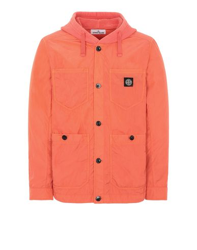 STONE ISLAND 428J2 NYLON TELA-TC Jacket Man Lobster Red EUR 630