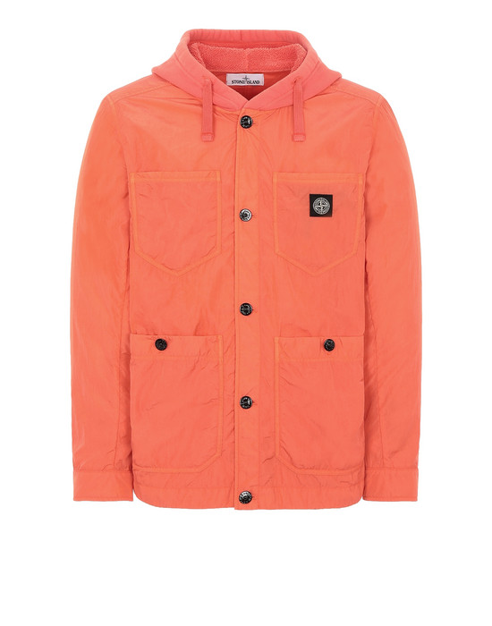 STONE ISLAND 428J2 NYLON TELA-TC Jacket Man Lobster Red