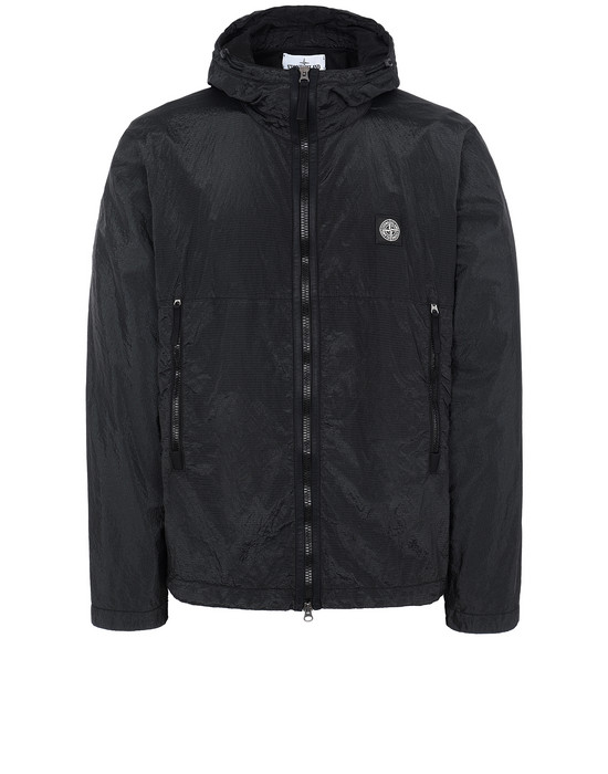 STONE ISLAND 44135 NYLON METAL WATRO RIPSTOP Куртка Для Мужчин Черный