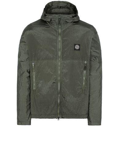 STONE ISLAND 44135 NYLON METAL WATRO RIPSTOP Jacket Man Olive Green EUR 500