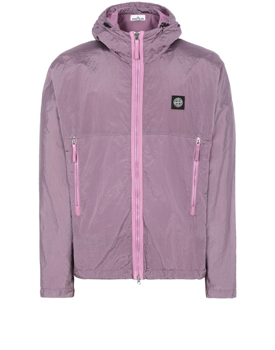 STONE ISLAND 44135 NYLON METAL WATRO RIPSTOP 캐주얼 재킷 남성 핑크 쿼츠