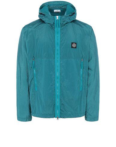 STONE ISLAND 44135 NYLON METAL WATRO RIPSTOP Jacket Man Turquoise EUR 535