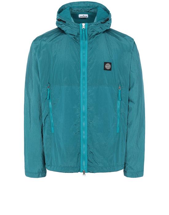 STONE ISLAND 44135 NYLON METAL WATRO RIPSTOP Jacket Man Turquoise