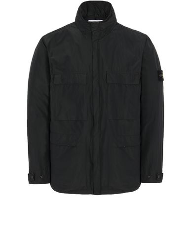 STONE ISLAND 45122 MICRO REPS Jacket Man Black USD 408