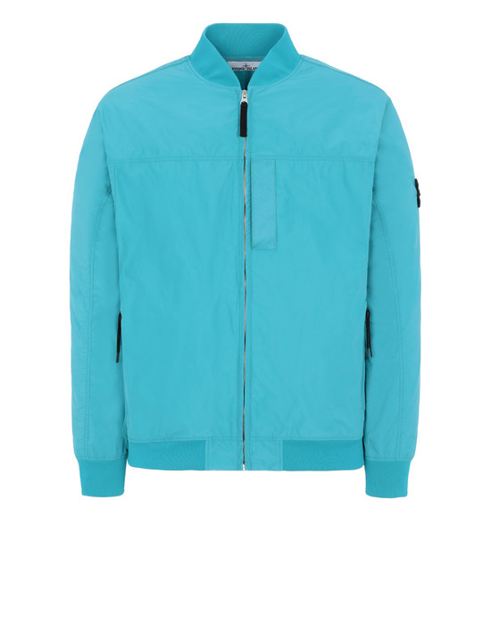 STONE ISLAND 40622 MICRO REPS Blouson Homme Turquoise