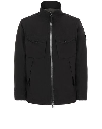 STONE ISLAND 42220 GORE-TEX WITH PACLITE® PRODUCT TECHNOLOGY Jacke Herr Schwarz EUR 699