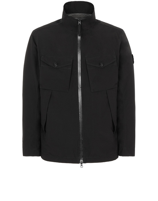 STONE ISLAND 42220 GORE-TEX WITH PACLITE® PRODUCT TECHNOLOGY Jacket Man Black