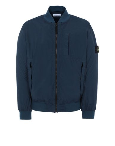 STONE ISLAND 44431 SKIN TOUCH NYLON-TC_PACKABLE Jacket Man Marine Blue EUR 320
