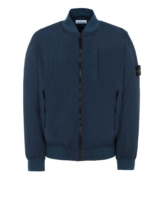 STONE ISLAND 44431 SKIN TOUCH NYLON-TC_PACKABLE Giubbotto Uomo Blu Marine