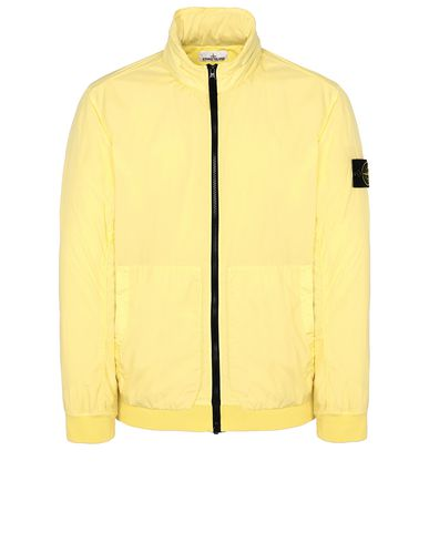 STONE ISLAND 43230 GARMENT DYED CRINKLE REPS NY Jacket Man Lemon USD 613