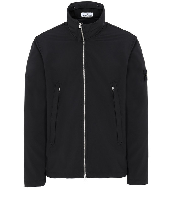 STONE ISLAND 40827 LIGHT SOFT SHELL-R Jacket Man Black
