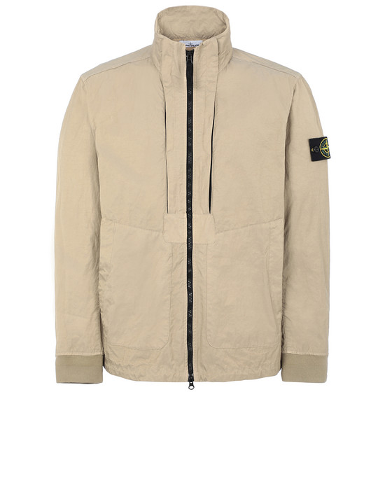 Jacket Man 40126 TIGHTLY WOVEN NYLON TWILL-TC Front STONE ISLAND