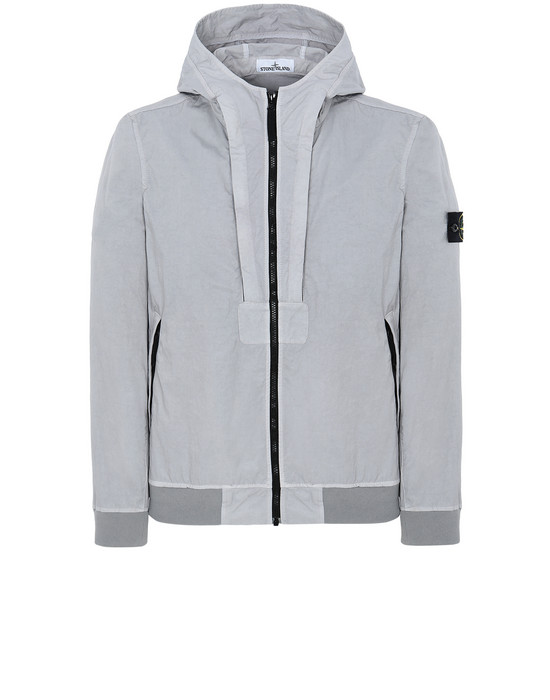 STONE ISLAND 40426 TIGHTLY WOVEN NYLON TWILL-TC Jacket Man Dust Gray