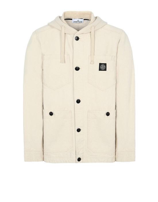 Куртка Для Мужчин 428J1 PANAMA PLACCATO Front STONE ISLAND