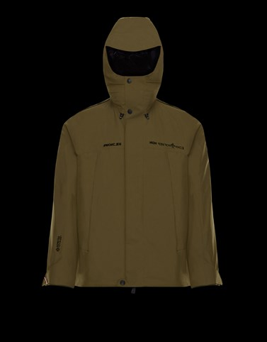 LINTH Military green Category Overcoats Man