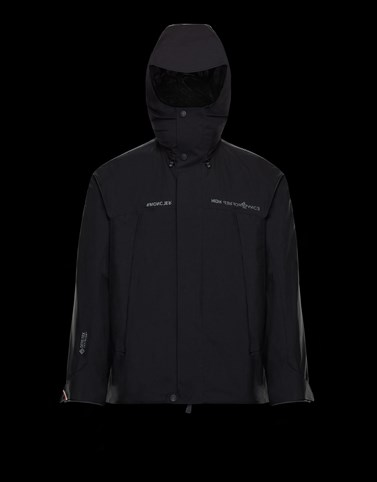 LINTH Black Ski jackets Man