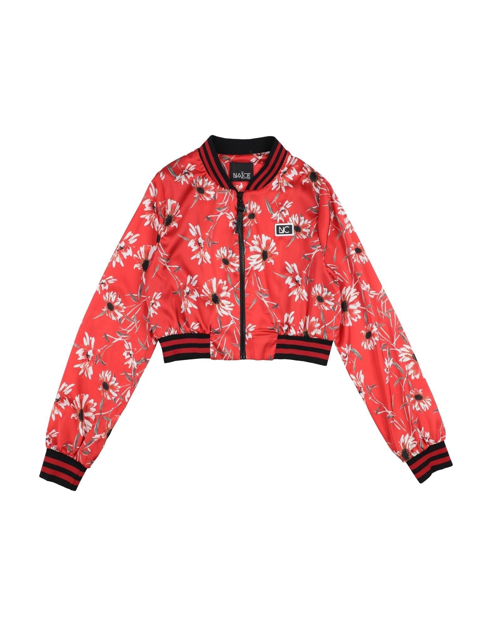 Naïce Kids' Jackets In Red