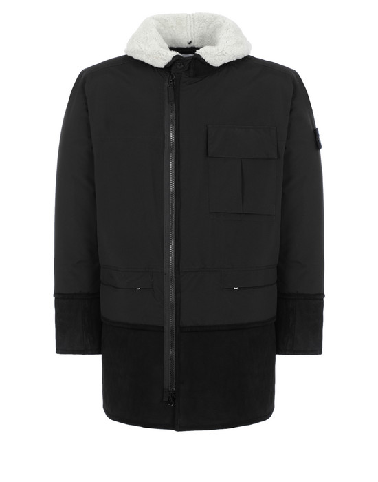 STONE ISLAND Mid-length jacket 70830 GORE-TEX INFINIUM™ WITH SHEEPSKIN_PRIMALOFT® INSULATION