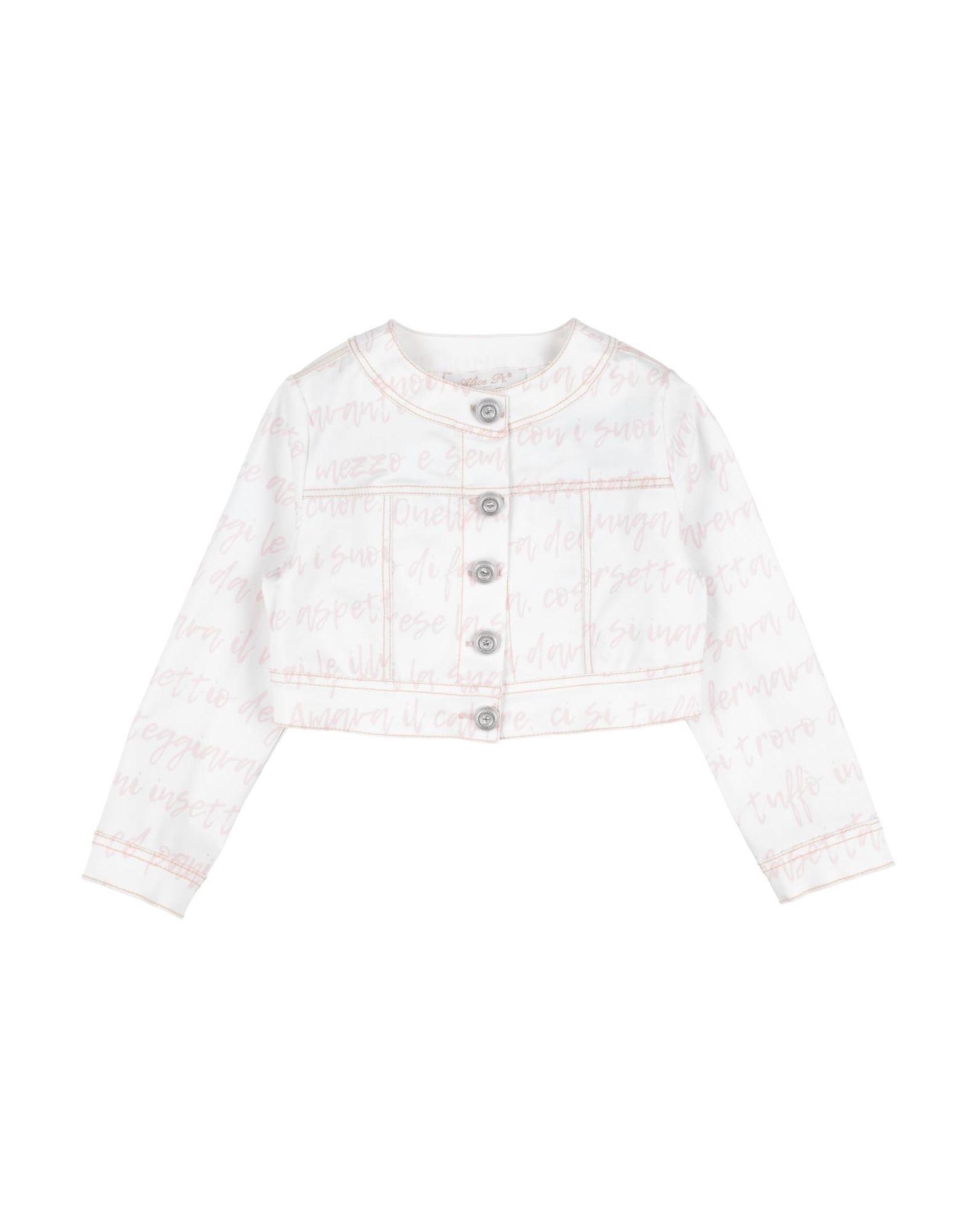 Alice Pi. Kids' Jackets In White