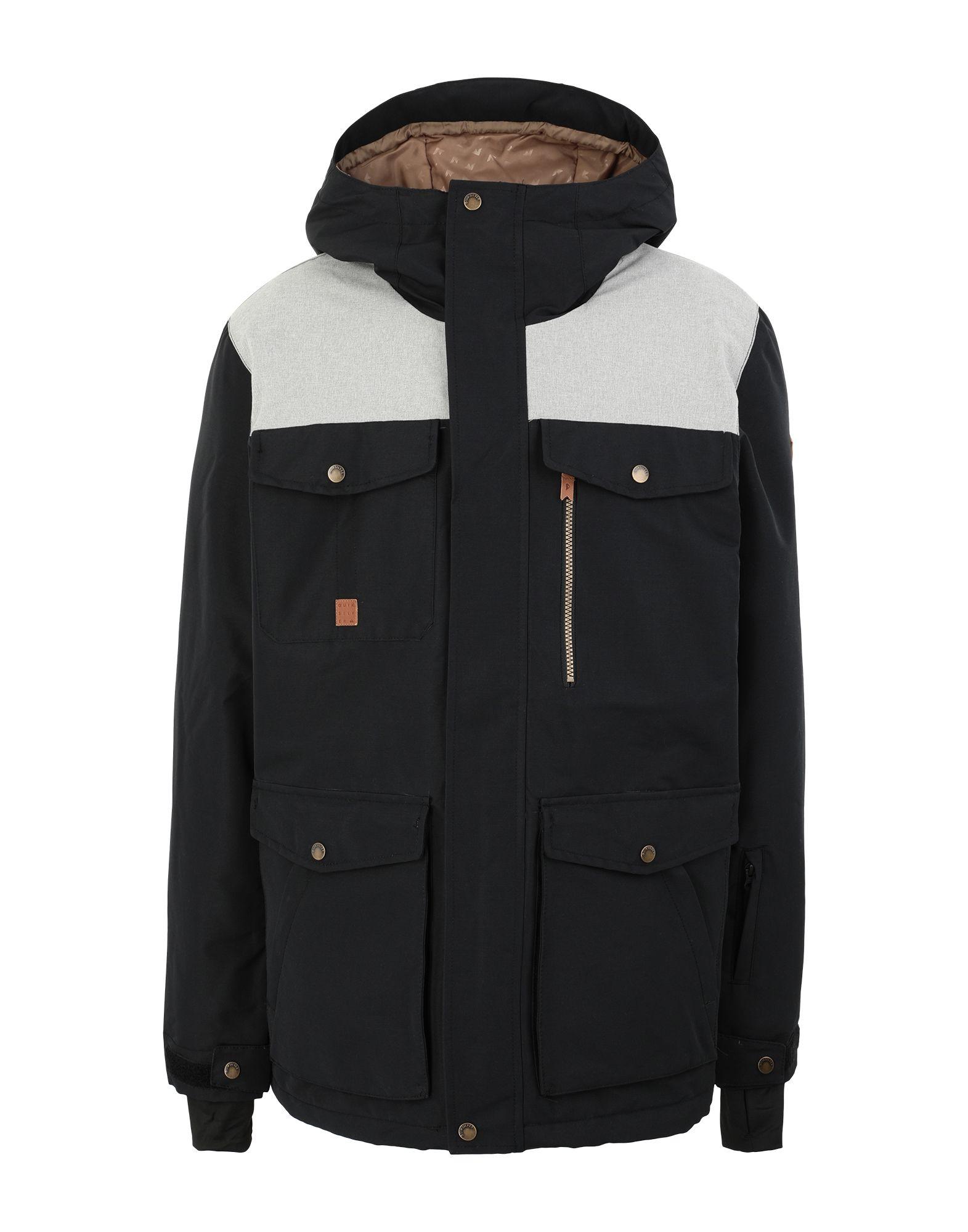 QUIKSILVER Куртка сноубордическая куртка с капюшоном quiksilver