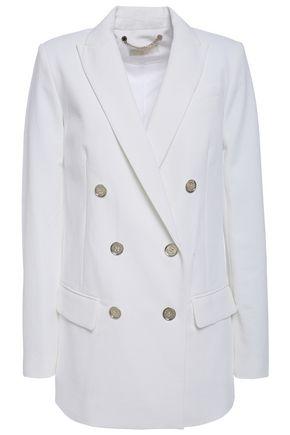 MICHAEL MICHAEL KORS بليزر من قماش بيكيه مع أزرار مزدوجة