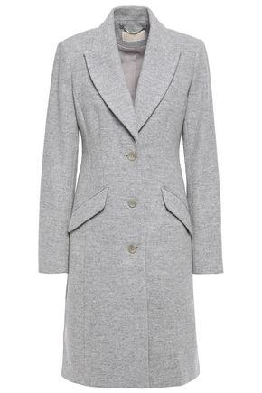 MICHAEL MICHAEL KORS Mélange wool-blend brushed-felt coat