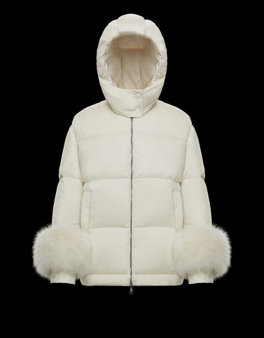 FRAIE Ivory Short Down Jackets Woman