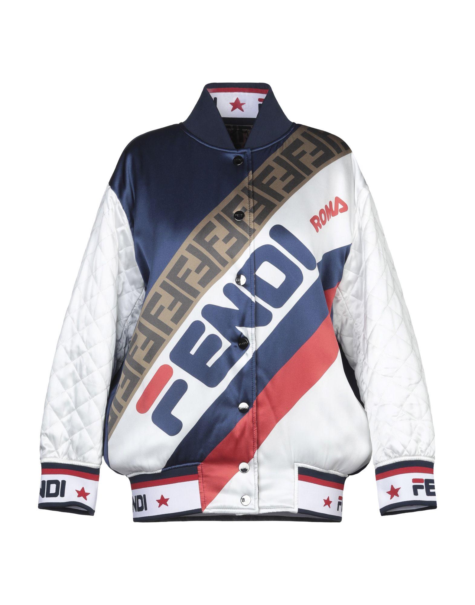 FENDI x FILA Куртка куртка утепленная fila fila fi030ewgezu6