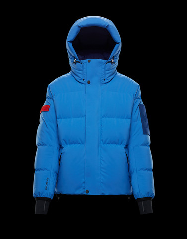 TAKU Blue Down Jackets Man