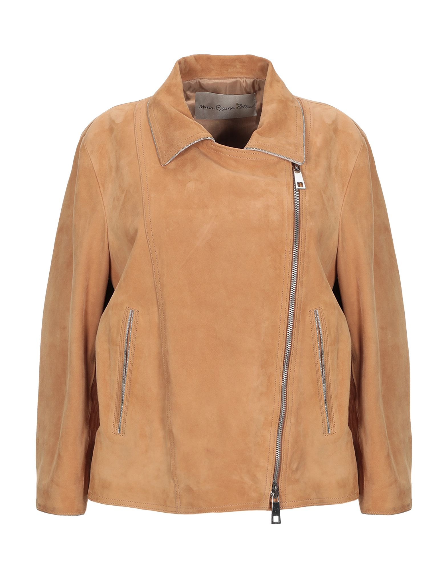 MARIA ROSARIA ROLLIN Куртка куртка с запахом maria intscher