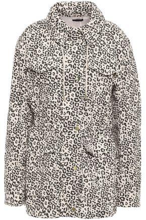 ATM ANTHONY THOMAS MELILLO Leopard-print stretch cotton-canvas jacket