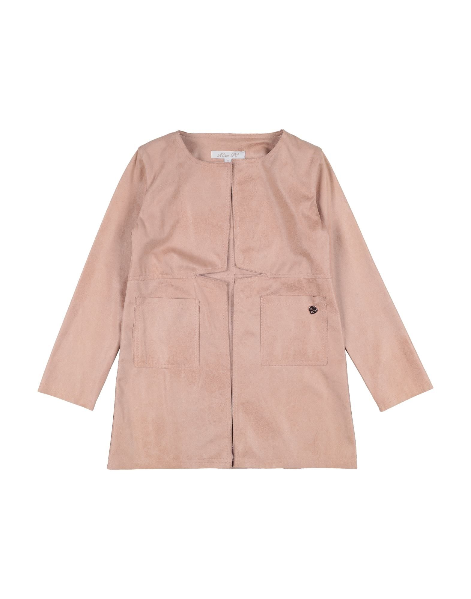Alice Pi. Kids' Overcoats In Pink