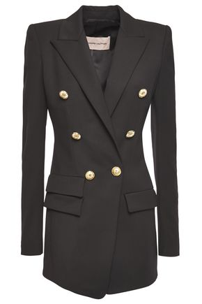 ALEXANDRE VAUTHIER Double-breasted stretch wool-twill blazer