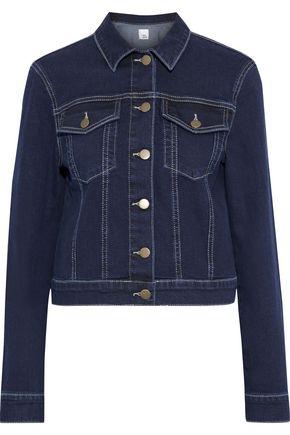 IRIS & INK Pear cropped denim jacket
