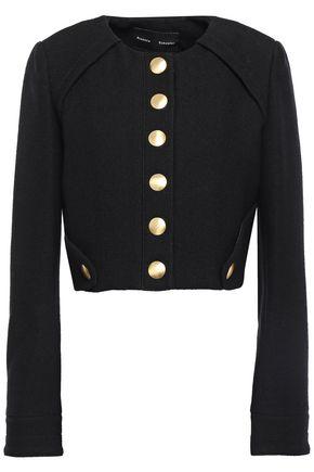 PROENZA SCHOULER Snap-detailed bouclé cotton-blend jacket