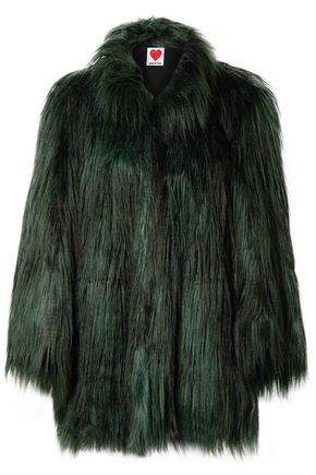 HOUSE OF FLUFF Convertible faux fur coat