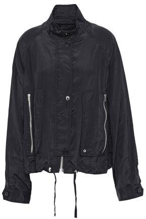 HELMUT LANG Zip-detailed crinkled shell jacket