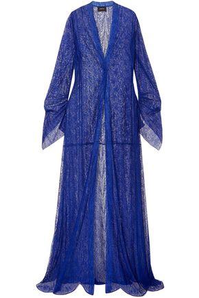 AKRIS Draped lace coat