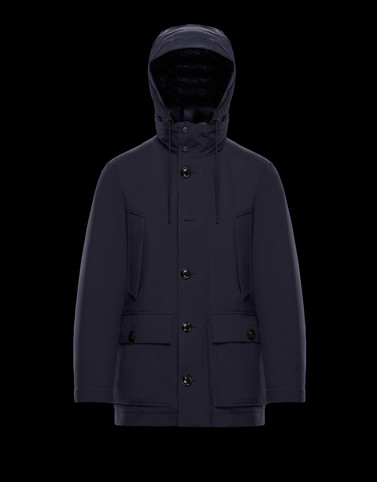 MARVIN Dark blue Jackets & Coats