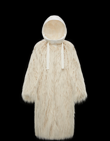 BOUREGREG Ivory Jackets Woman
