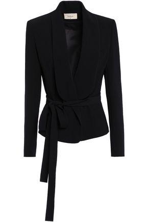 BA&SH Joy belted crepe blazer